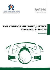 The Code of Military Justice Dahir No. 1-56-270