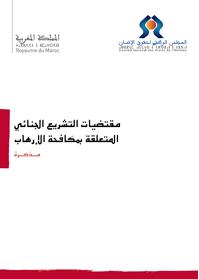 رأي حول مقتضيات قانونية متعلقة بمكافحة الإرهاب